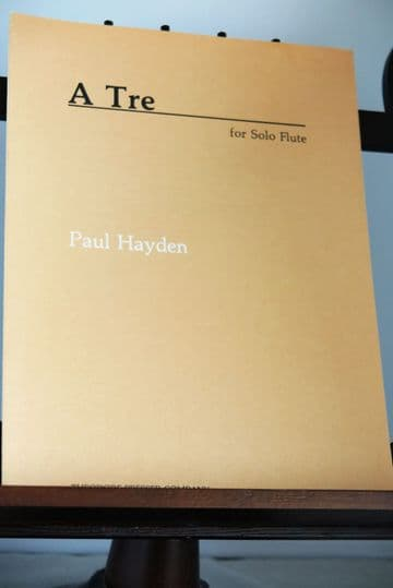 Hayden P - A Tre for Solo Flute